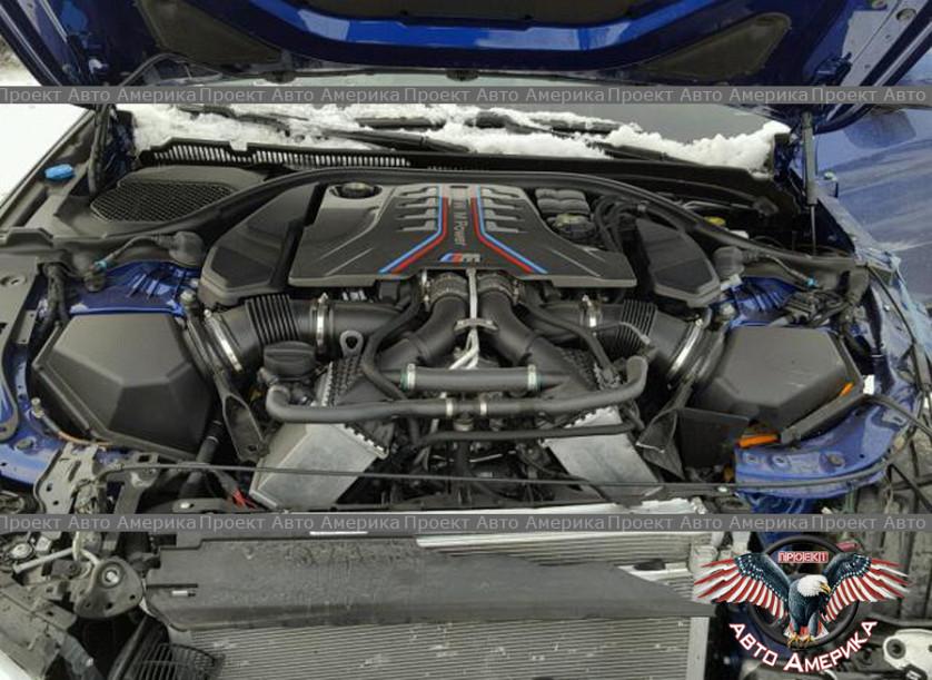 BMW M5 2018 г.в. за 52805$ зображення 8