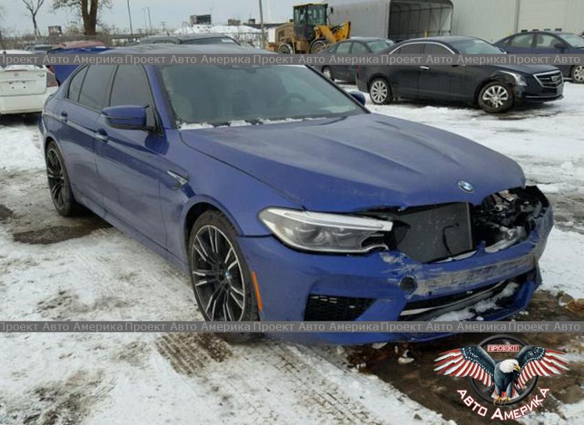 BMW M5 2018 г.в. за 52805$ зображення 1