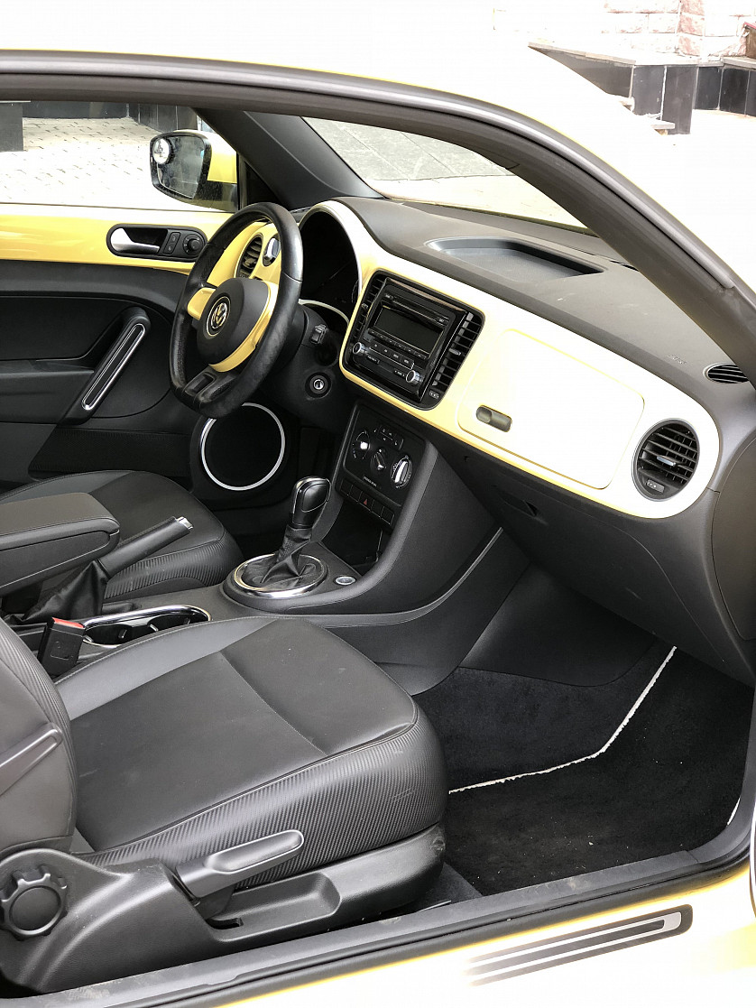 VW beetle 2013 зображення 2