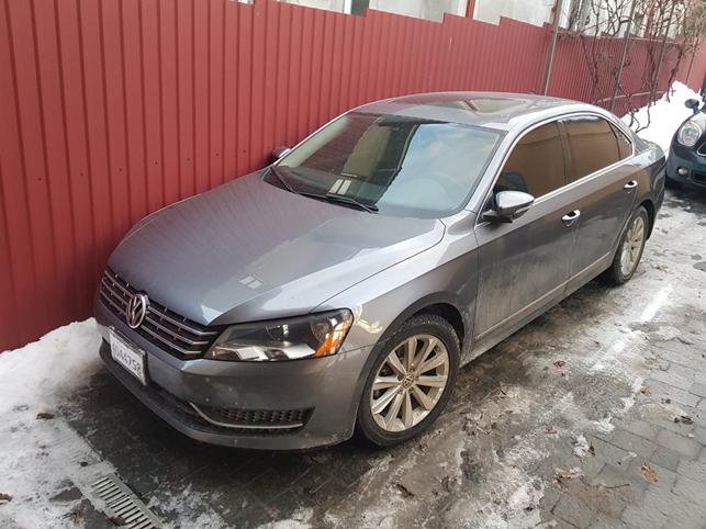 2012 Volkswagen Passat SEL 2.5 (B7) зображення 1