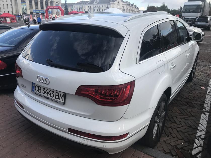 Audi Q7 2012 года. зображення 5