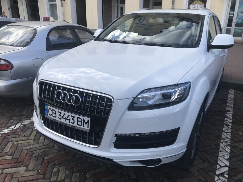 Audi Q7 2012 года. зображення 2