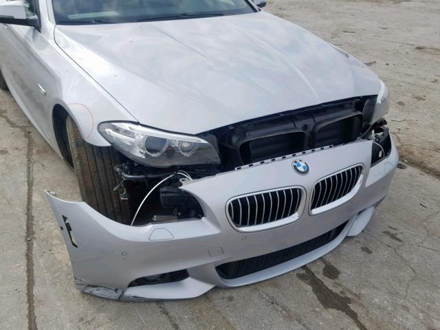 BMW 528 I 2014 серый изображение 4
