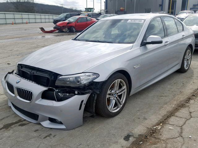 BMW 528 I 2014 серый изображение 3
