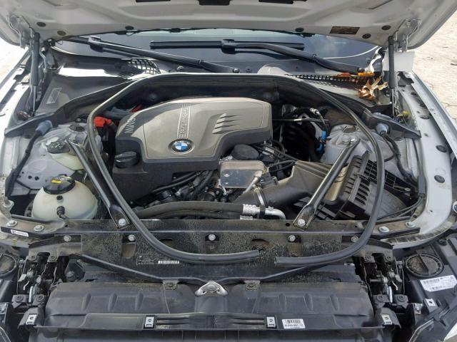 BMW 528 I 2014 серый изображение 8