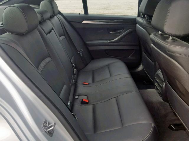 BMW 528 I 2014 серый изображение 6