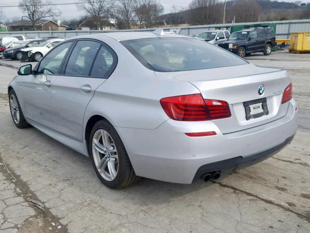 BMW 528 I 2014 серый изображение 1