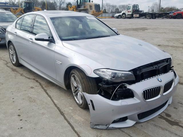 BMW 528 I 2014 серый изображение 2