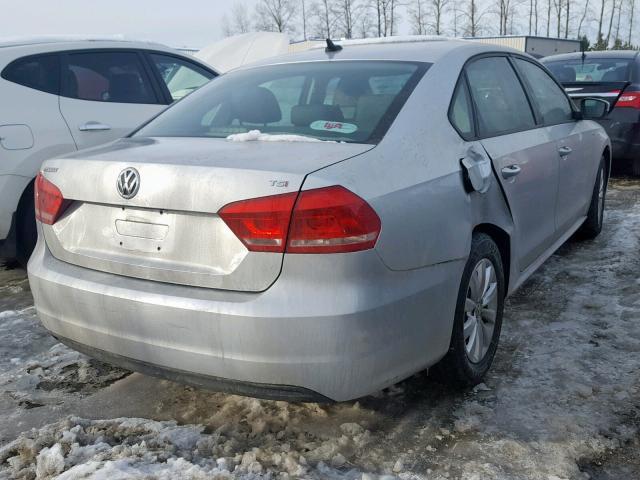 Volkswagen passat 2014 серый зображення 2
