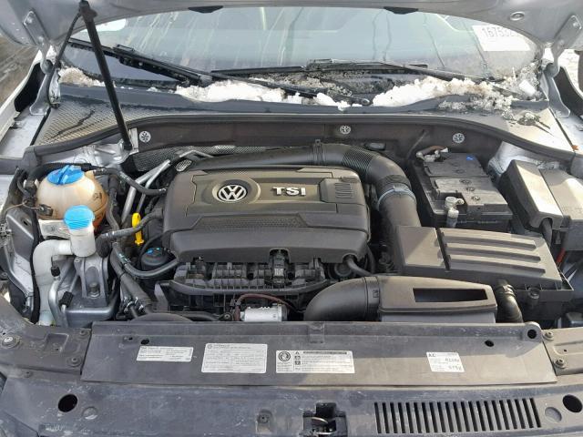 Volkswagen passat 2014 серый зображення 7