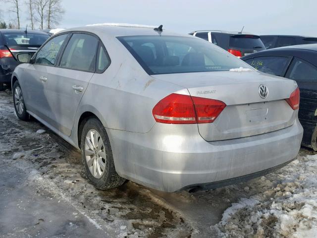Volkswagen passat 2014 серый зображення 4