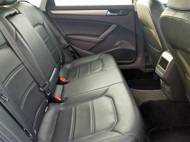 Volkswagen passat 2014 серый зображення 6