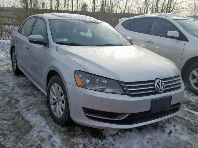Volkswagen passat 2014 серый зображення 1