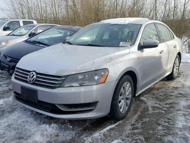 Volkswagen passat 2014 серый зображення 3