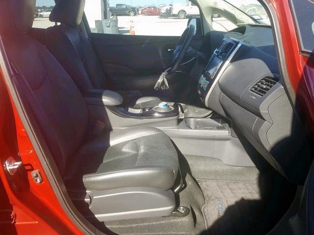 Nissan Leaf S 2015 год зображення 4