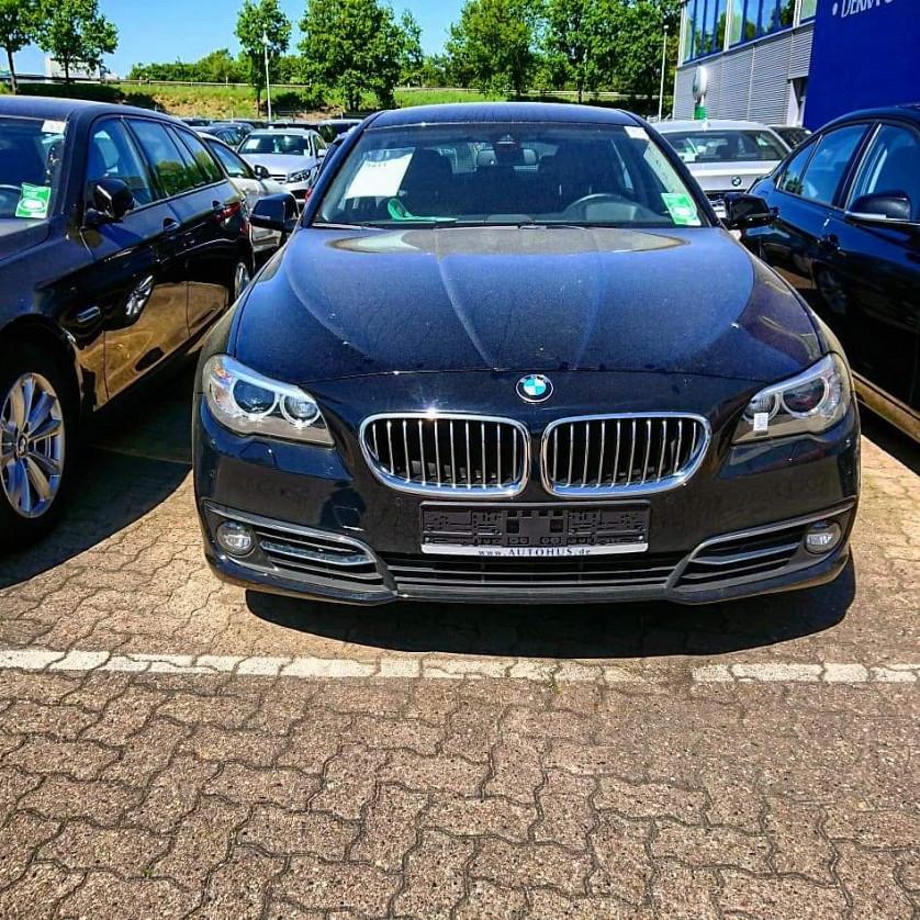 BMW 525d 2014 року зображення 1