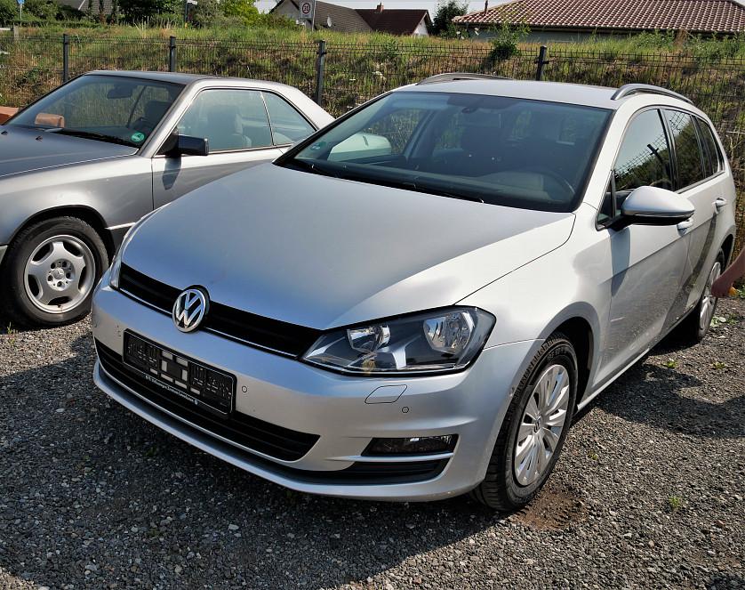 VW Golf 7 2014 зображення 1