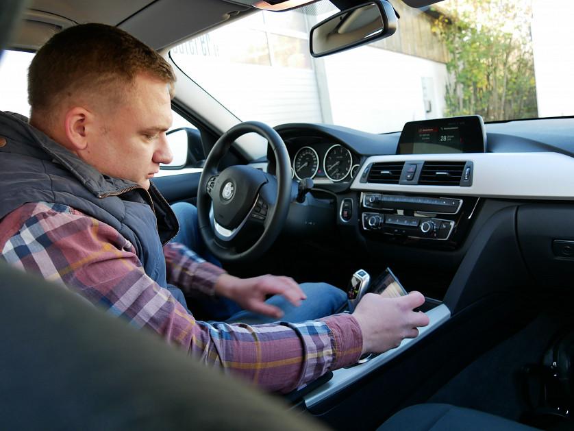 BMW 320d 2015 року зображення 3