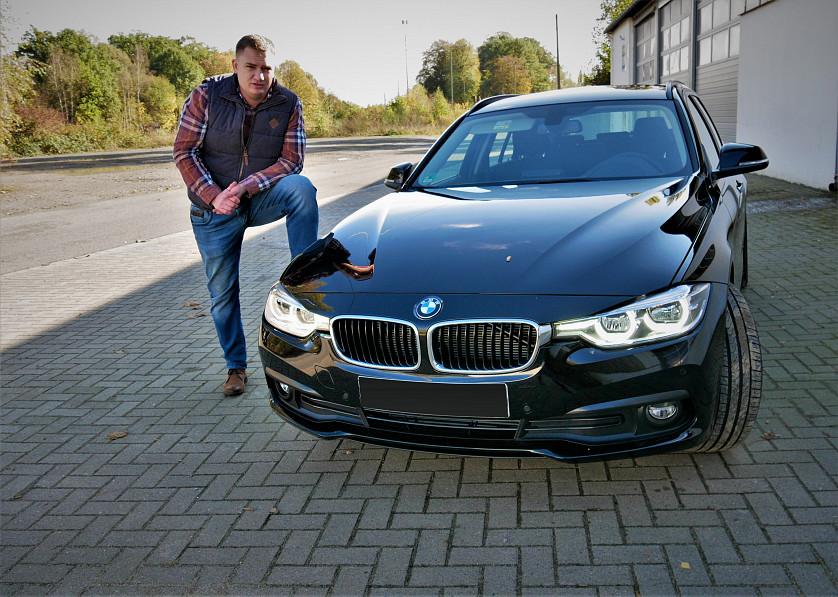 BMW 320d 2015 року зображення 2