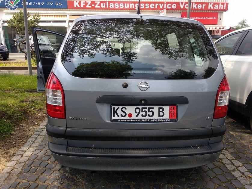 Opel Zafira A зображення 2
