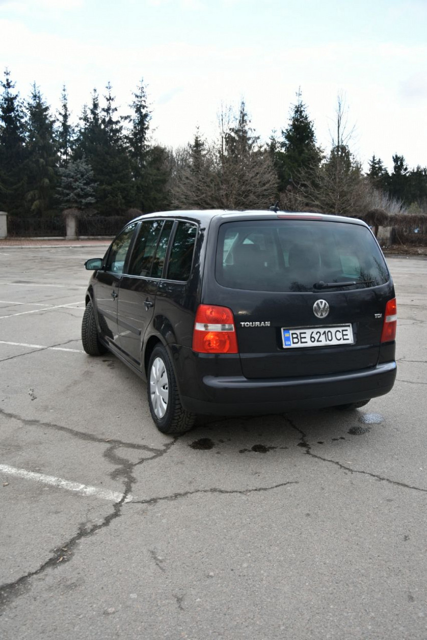 Пригон авто из Европы под ключ! Volkswagen Touran 2004 tdi зображення 5