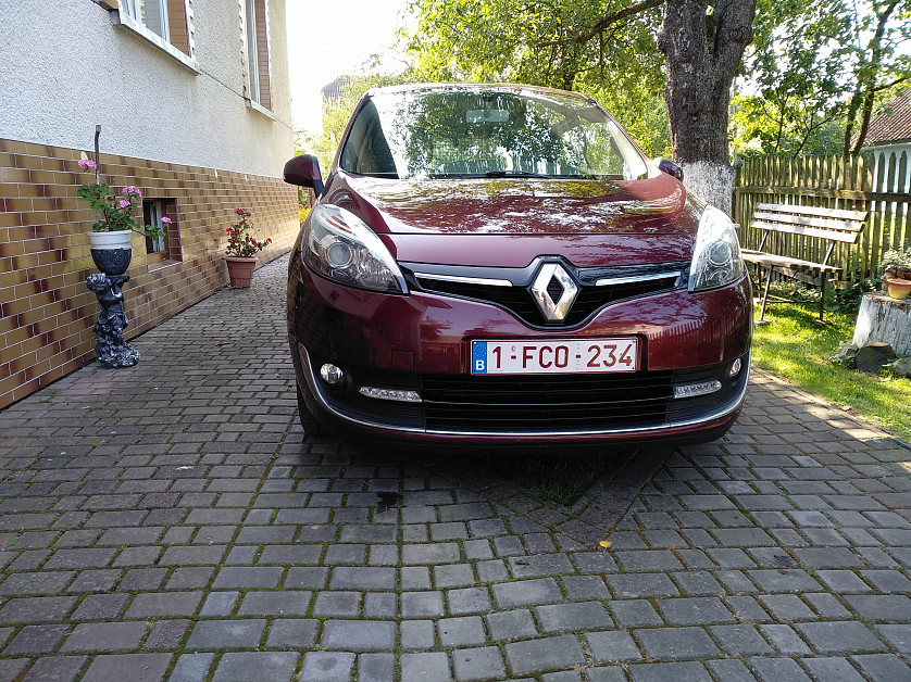 Renault Grand Scenic 2013 зображення 2
