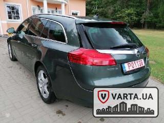 Opel Insignia з Литви зображення 1