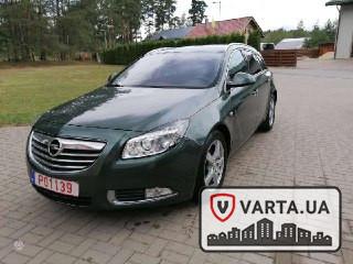 Opel Insignia з Литви зображення 4