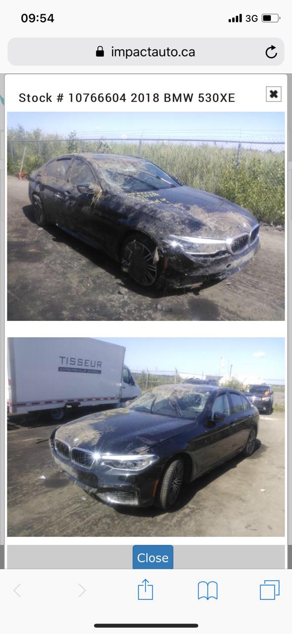 Покупка авто на аукціоні, доставка,розмитнення,ремонт. BMW G30 2018 року зображення 1