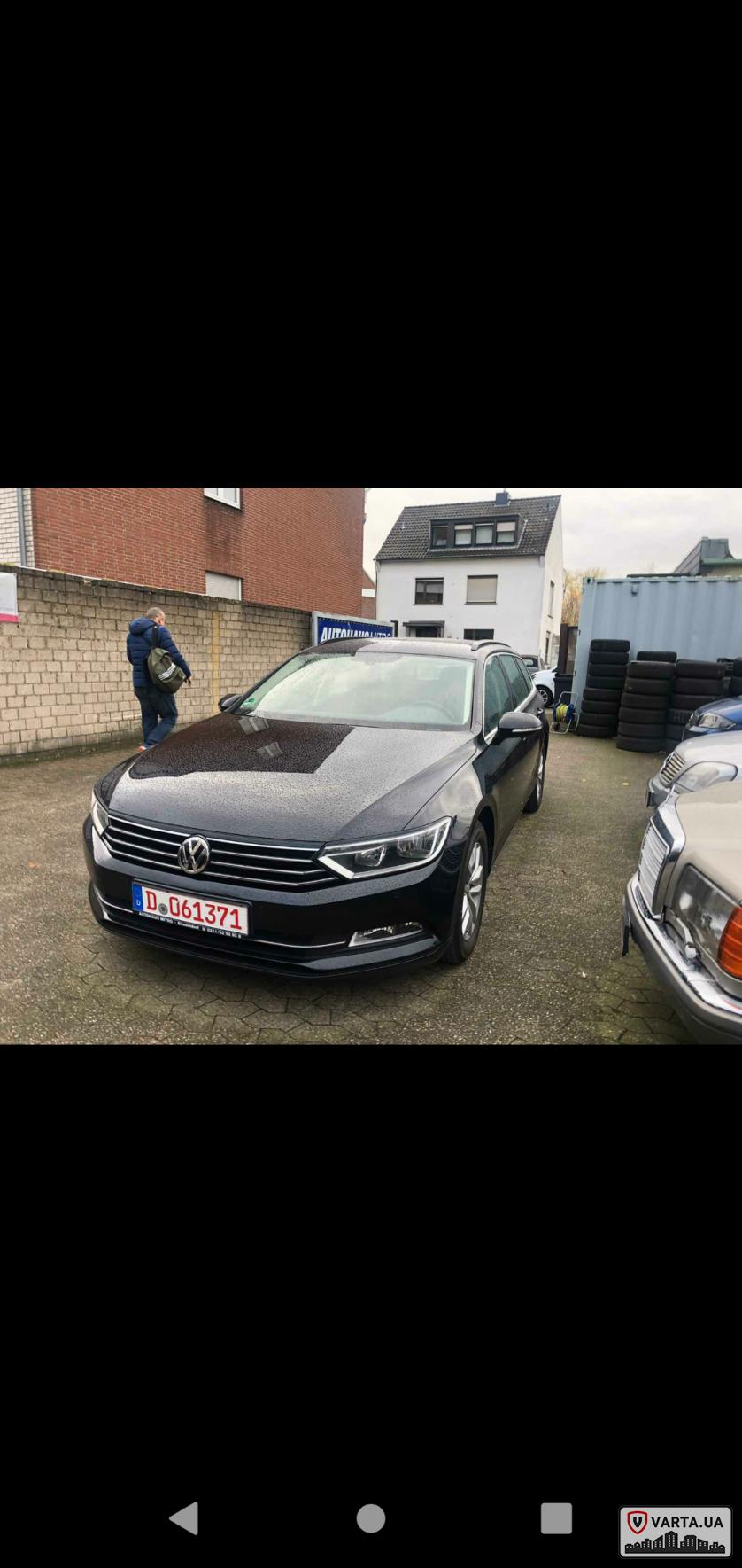 Пригон VW PASSAT b8 зображення 1