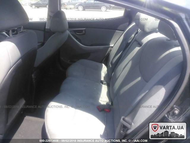 Hyundai Elantra GLS 2013 зображення 7
