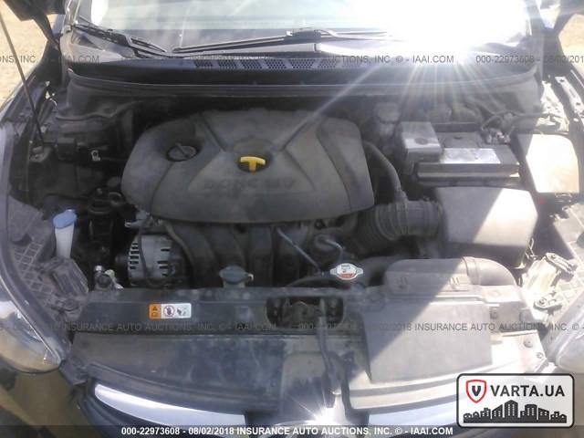 Hyundai Elantra GLS 2013 зображення 8
