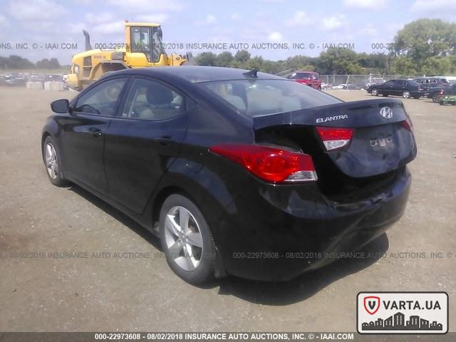 Hyundai Elantra GLS 2013 зображення 3