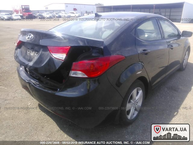 Hyundai Elantra GLS 2013 зображення 6