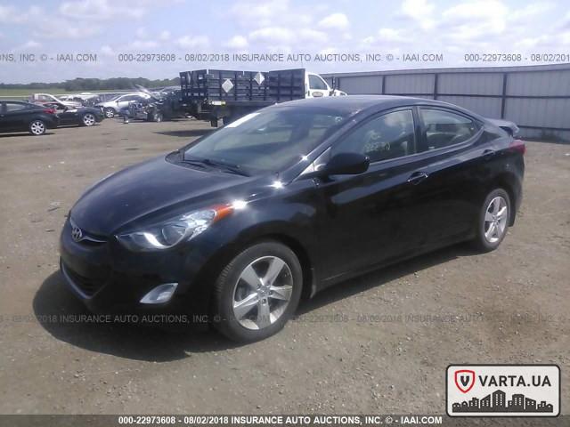 Hyundai Elantra GLS 2013 зображення 2