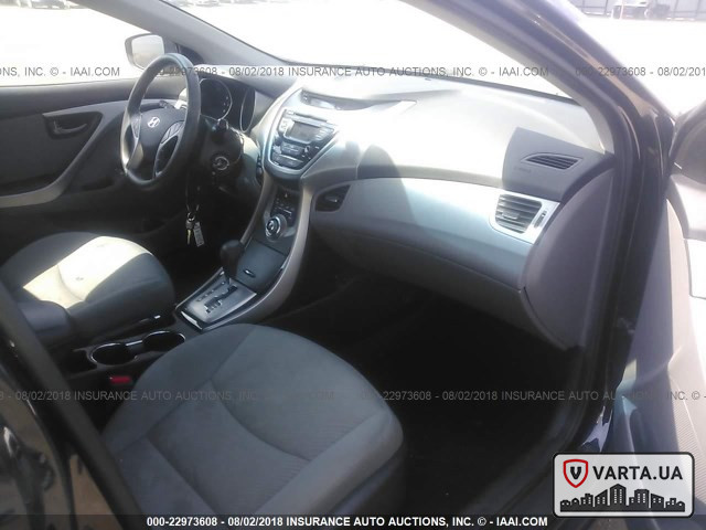 Hyundai Elantra GLS 2013 зображення 5