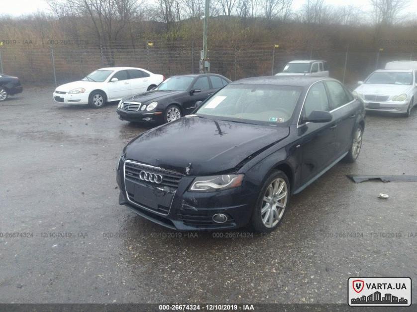 Audi A4 Quattro 2012 2.0 tfsi зображення 1
