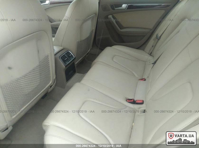 Audi A4 Quattro 2012 2.0 tfsi зображення 2