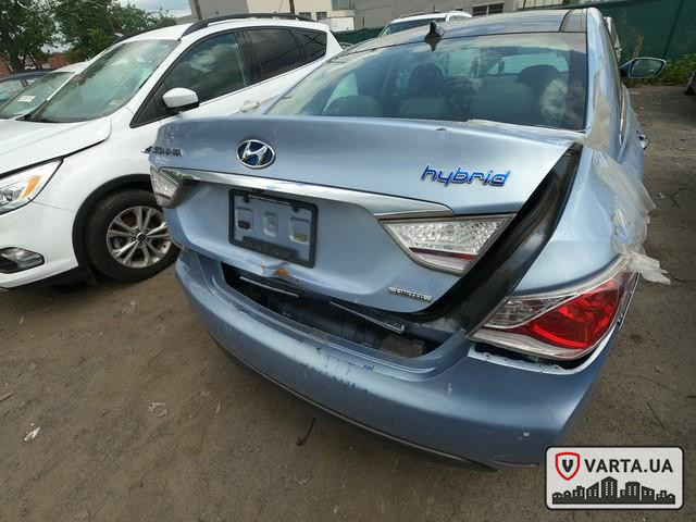 Hyundai Sonata Hybrid 2013 зображення 5