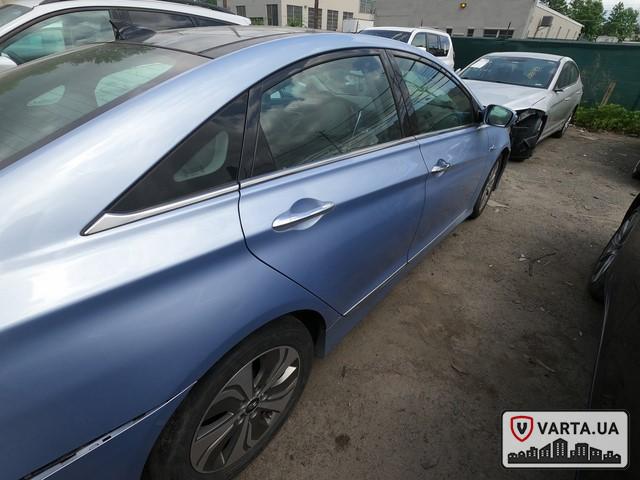 Hyundai Sonata Hybrid 2013 зображення 6