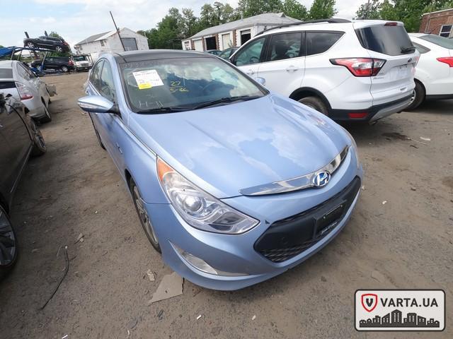 Hyundai Sonata Hybrid 2013 зображення 7