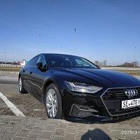 Audi A-7 TFSI 55. 2018