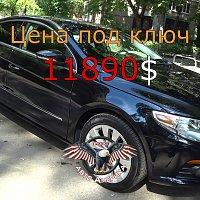VOLKSWAGEN PASSAT CC 2010 г.в. за 3650$