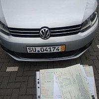 VW Touran '11 с Германии